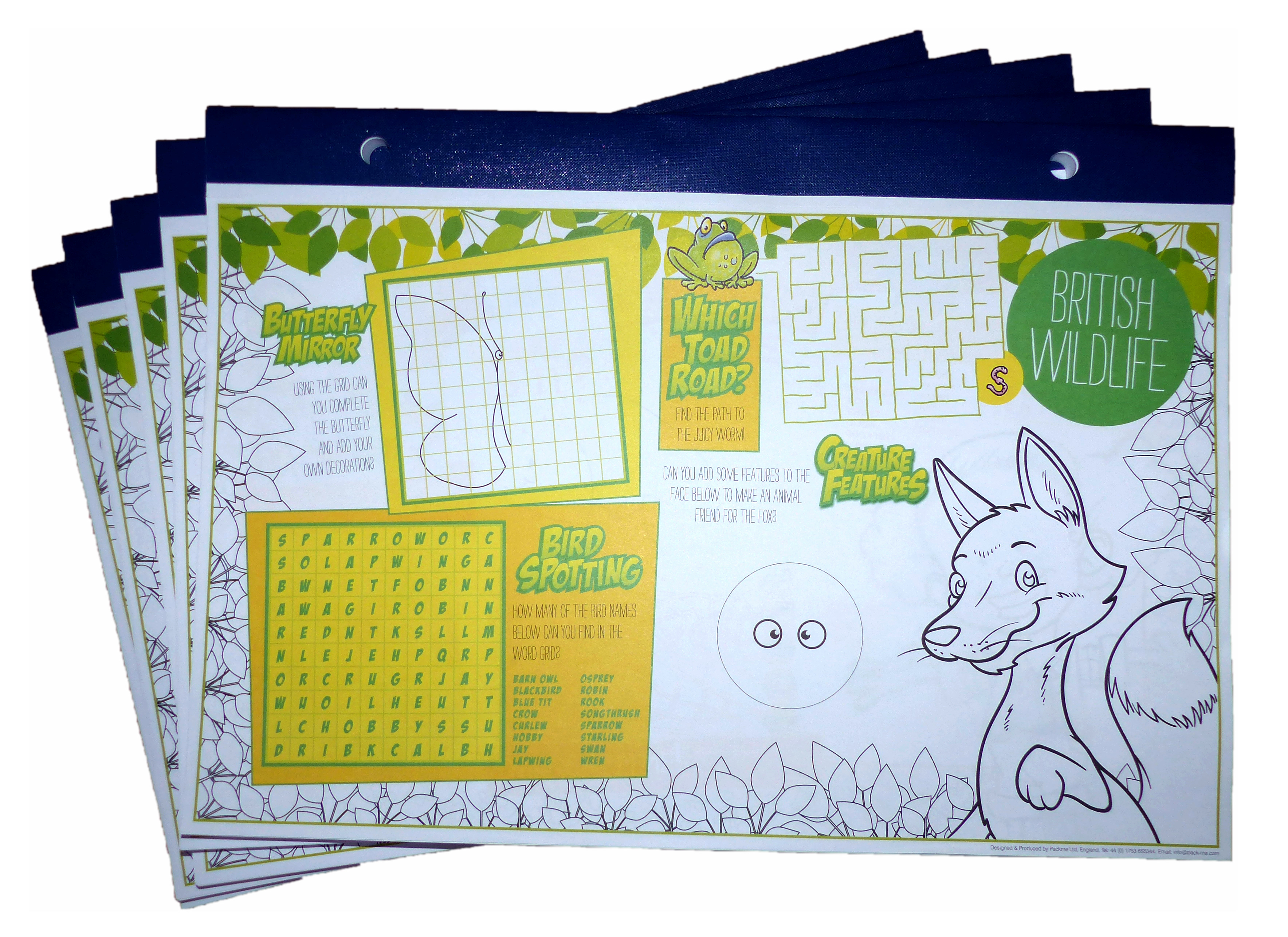 Colouring/Activity Pads - Activity Packs, Children\'s Activity Packs ...