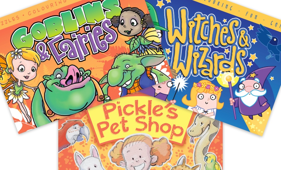 Goblins fairies witches wizards pickles pet shop